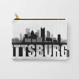Pittsburgh Silhouette Skyline Carry-All Pouch