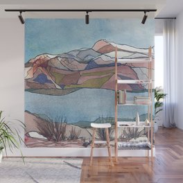 Across the River Wall Mural