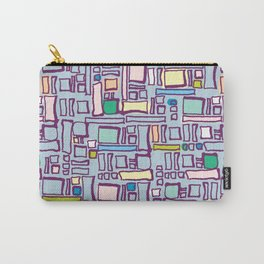 Pastel Block Carry-All Pouch
