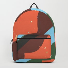 Abstract Graphic Digital Textured Art GC-117-03 Backpack