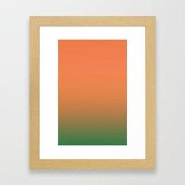 Gradient 3 Framed Art Print
