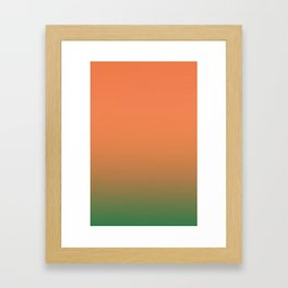Gradient 3 Framed Art Print