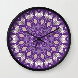 Ancestors (Purple) Wall Clock