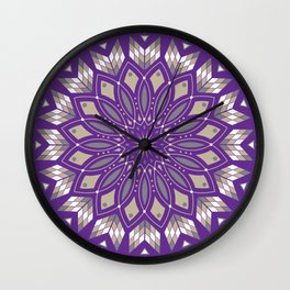 Ancestors (Purple) Wall Clock