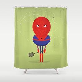 Spider man: My bug hero! Shower Curtain