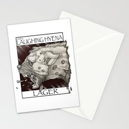 GMDs Laughing Hyena Lager Stationery Cards