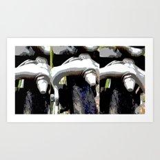 Freno de Bicicleta - Bike Brake Art Print