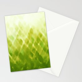 Diamond Fade in Green Stationery Cards
