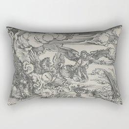 Woman of Babylon Rectangular Pillow