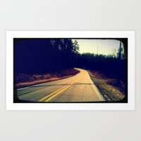 Come. Take a Drive with Me. Just You and I. Please. This Road's So Lonely Without You.  Art Print