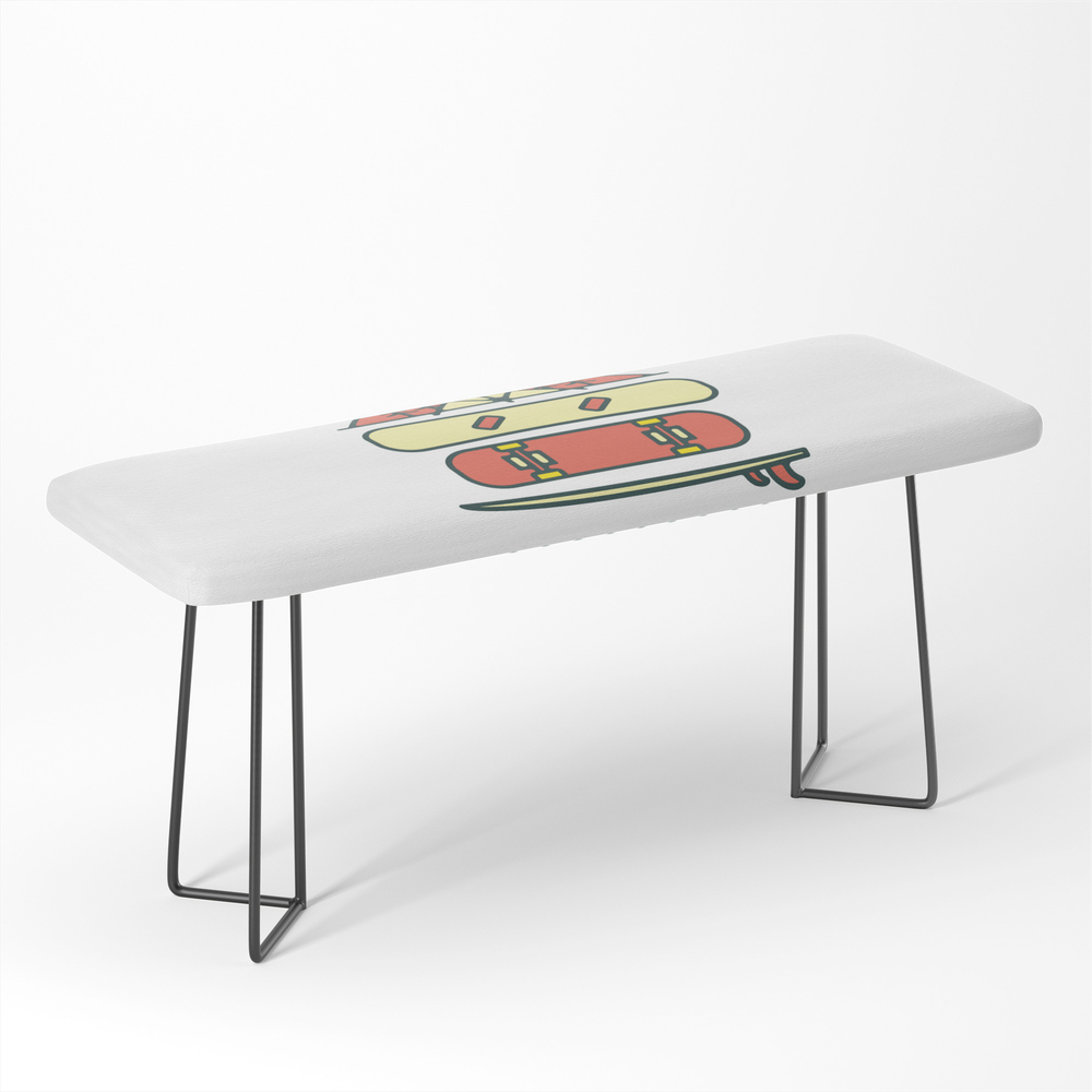 Outdoor Style Bench by quilimo