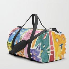 Cats. Cats. Cats. Cats. Cats Duffle Bag