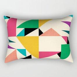 "Triangled 09. ""Texture"" Rectangular Pillow"
