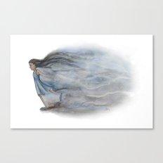 Bursting through Canvas Print
