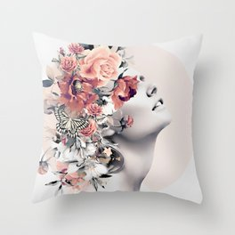 Bloom 7 Throw Pillow