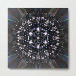Glittering Creation Metal Print