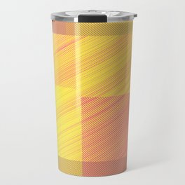 Abstract hot desert Travel Mug