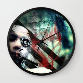 Abstraction, Distraction Wall Clock