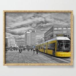 Berlin Alexanderplatz II Serving Tray