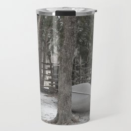 Cold Winters Day Travel Mug