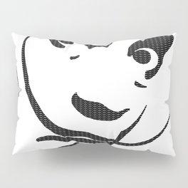 Dali's Mustache inside of Dali's Mustache (larger pattern) Pillow Sham