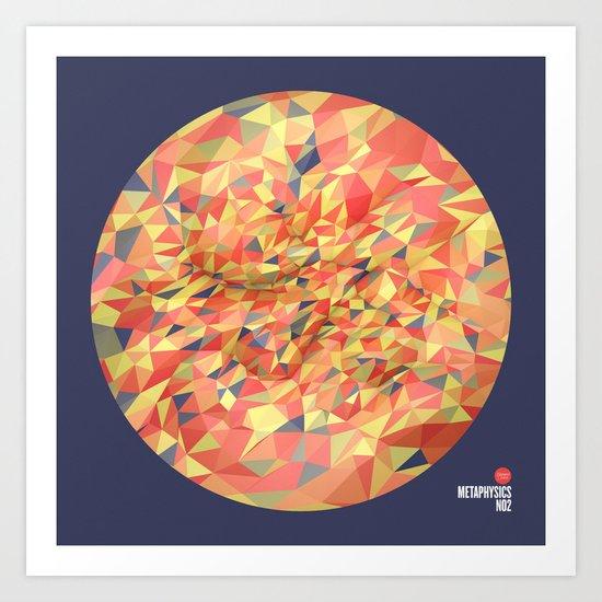 Metaphysics no2 Art Print