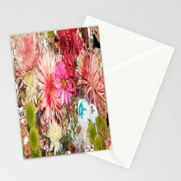 Flowers In My Heart Stationery Cards