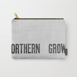 NORTHERN GROWN  White  Carry-All Pouch