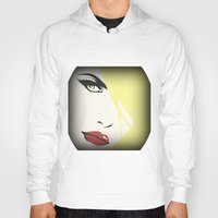 woman Hoodies featuring Woman by Cs025