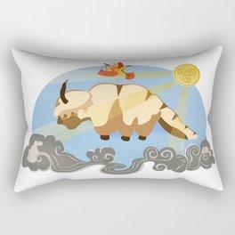 The Flying Duo Rectangular Pillow