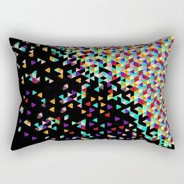 Black Funfetti Rectangular Pillow