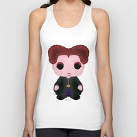 hocus pocus Tank Tops featuring Hocus Pocus Winifred by SpaceWaffle