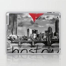 I love Boston Laptop & iPad Skin
