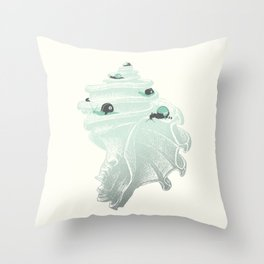 Race for the Prize Throw Pillow