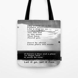 Dream Last Night Tote Bag