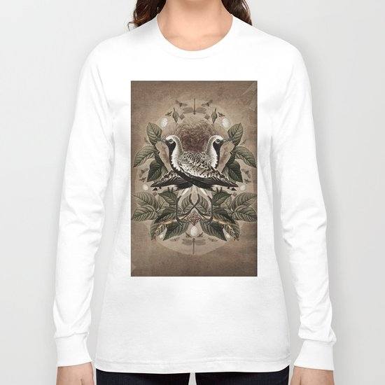 Pluvialis squatarola Long Sleeve T-shirt
