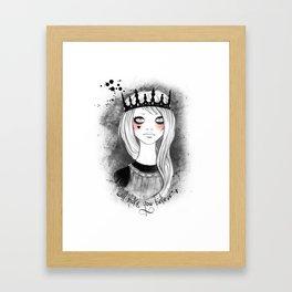 make you believe Framed Art Print