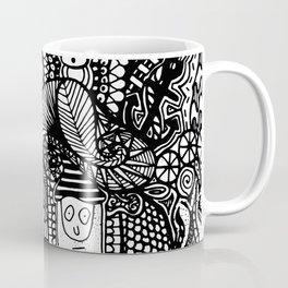 Under the Sea Doodle Coffee Mug