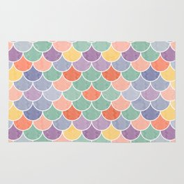 Watercolor Lovely Pattern VVXVIV Rug