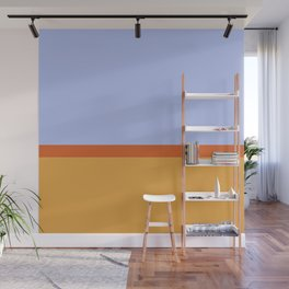 Summer 1973 Color Block Wall Mural