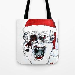Santa Of The Dead Tote Bag