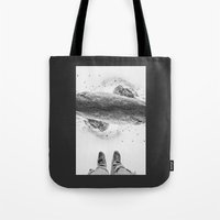 solid Tote Bags featuring Solid ground by Stoian Hitrov - Sto