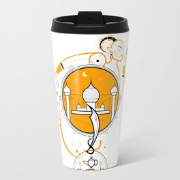 A Legend of Sand Travel Mug