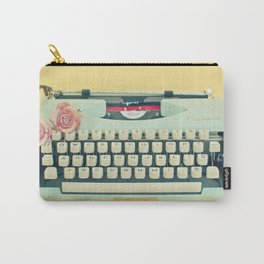 The Typewriter Carry-All Pouch