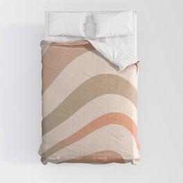 Gradient Sunset Rainbow Shapes Comforters