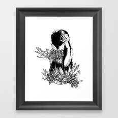 Aversion Framed Art Print