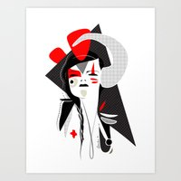 This head I hold 2 - Emilie Record Art Print