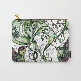 Hummingbird Garden Party Carry-All Pouch