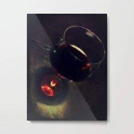 wine cup Metal Print