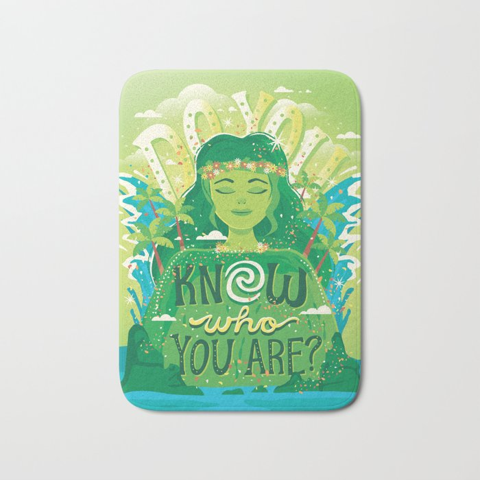 Know who you are Bath Mat